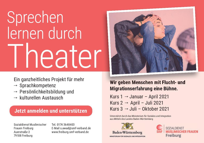 """Das Projekt """"Sprache lernen durch Theater"""""""